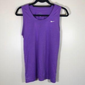 Tops - Lk NEW Nike Dry Fit purple tank top shirt size Lg